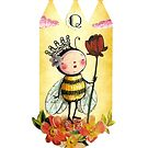 Q is for Queen Bee by Susan Mitchell