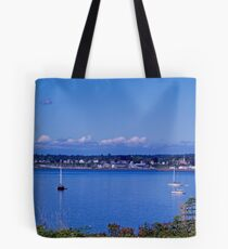 Sails on the Bay Tote Bag