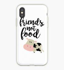 Friends Not Food - Vegan  iPhone Case