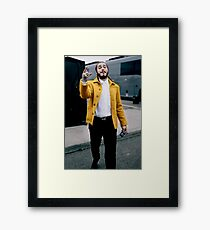 Yellow Malone Framed Print