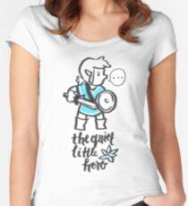The Quiet Little Hero Women's Fitted Scoop T-Shirt