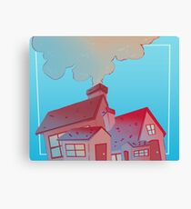 House & Home Canvas Print