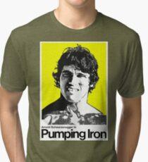 Pumpendes Eisen Vintage T-Shirt