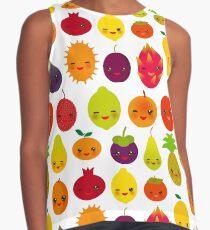 Happy Fruits Contrast Tank