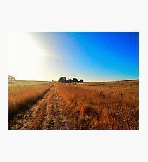 Rural Australia Landscape Print Photographic Print