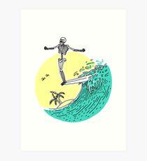Surf Nose Art Print