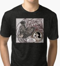 """The Creeping Terror"" Tri-blend T-Shirt"