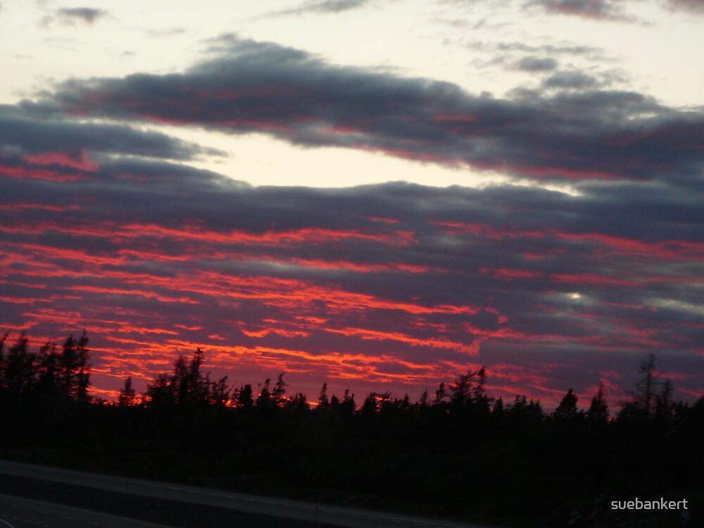New Brunswick Sunset by suebankert