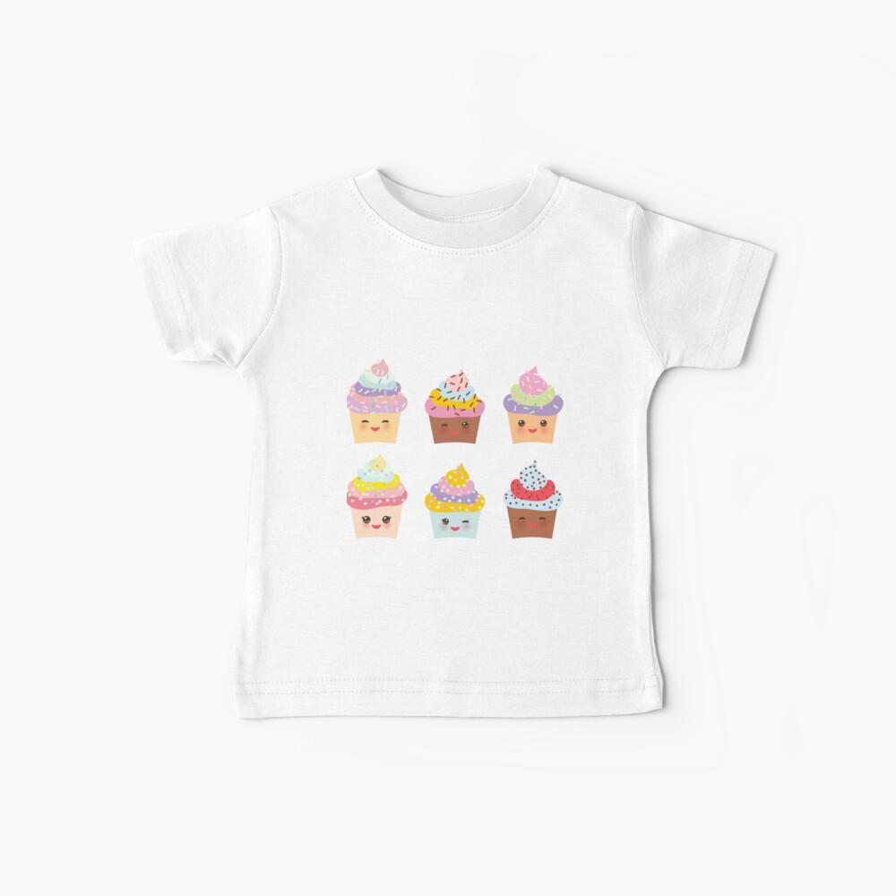Schokoladen Cupcakes Baby T-Shirt
