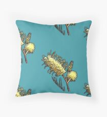 Australian grevillea  Throw Pillow