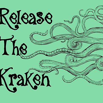 """Release The Kraken"" With Long Tentacles  by GypseaDesigns"