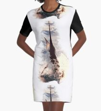 Marlin - Deep-sea series 10 Graphic T-Shirt Dress
