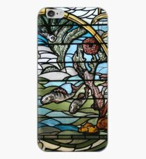 Stained Glass Art Nouveau Detail iPhone Case