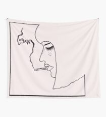 Eyes wide shot Wall Tapestry