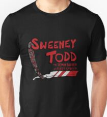 Sweeney Todd Title Print Unisex T-Shirt