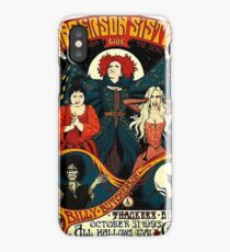 witches, zombie, and black cat iPhone Case/Skin