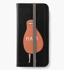 Ham: Eine Spottdrossel buchstäblich Scout Ham Halloween-Kostüm zu töten iPhone Flip-Case/Hülle/Klebefolie