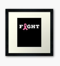 Fight Breast Cancer Framed Print