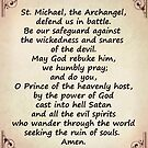 Saint Michael's Prayer by Albert