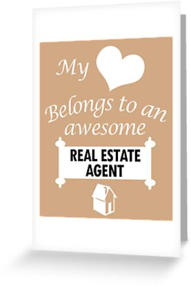 Real Estate Agent Lover Awesome Surprise Gift
