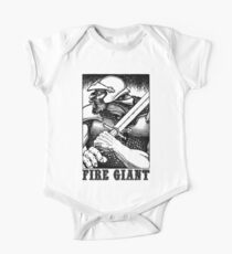 AD&D: Fire Giant Kids Clothes