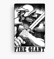AD&D: Fire Giant Canvas Print