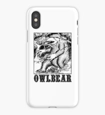 AD&D: Owlbear iPhone Case/Skin
