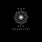 You Are Beautiful Mandala by Melanie Moor