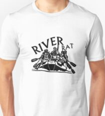 Whitewater Rafting Gift River Rat T-Shirt