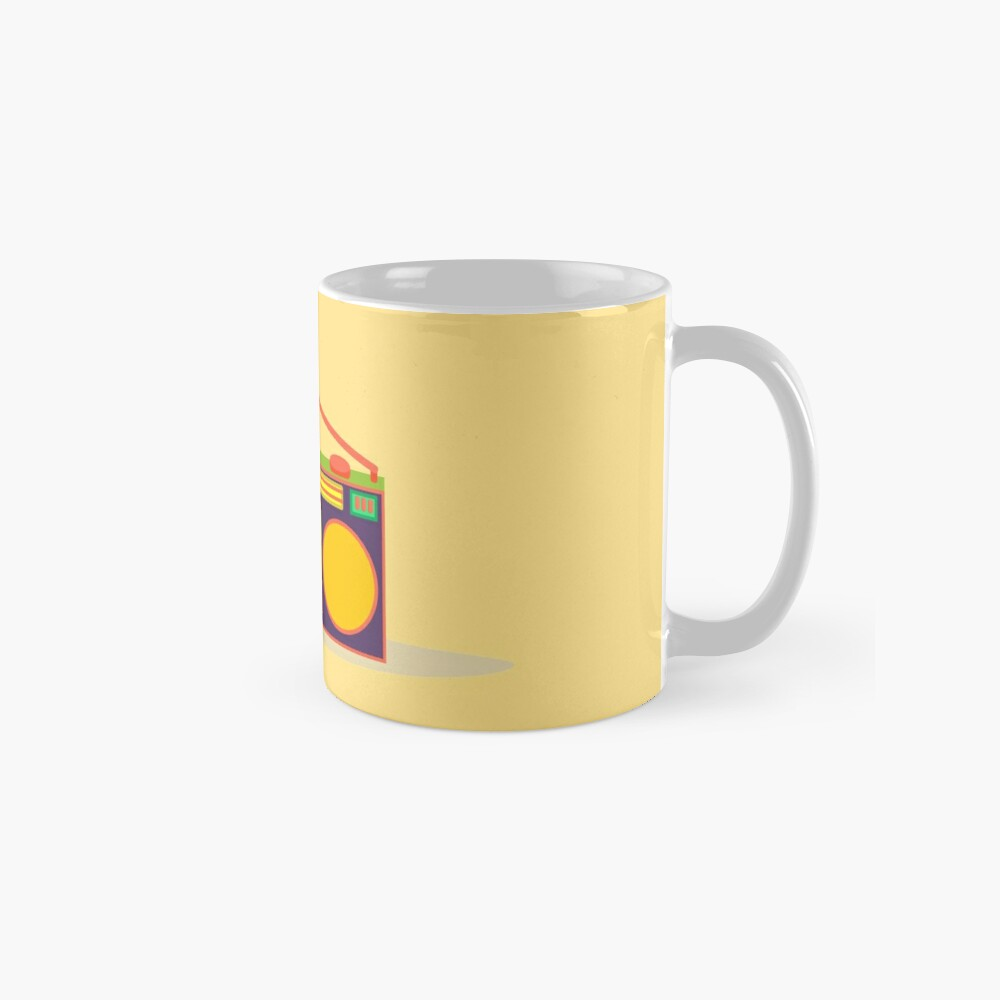 boombox - old cassette - Devices Mug