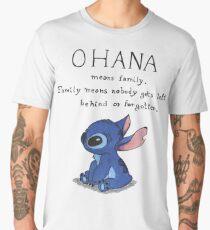Ohana Means Family Men's Premium T-Shirt