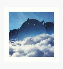 Beyond the Clouds Art Print