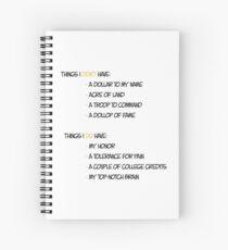 Do Don't Spiral Notebook