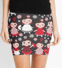 Flamenco dancers on black Mini Skirt