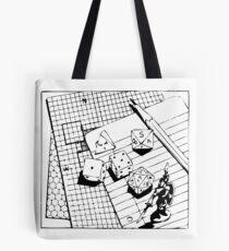 AD&D: Tools of the trade Tote Bag