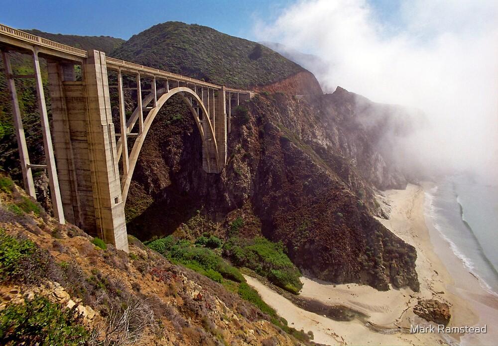Bixby Creek Bridge in Big Sur by Mark Ramstead
