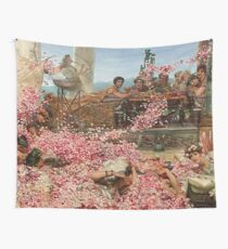 The Roses of Heliogabalus by Alma-Tadema Wall Tapestry