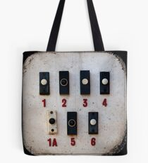 Blackpool Doorbells Tote Bag