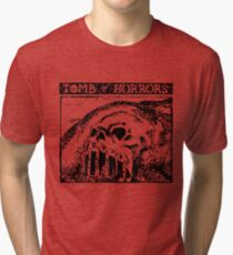 Tomb of Horrors: Skull Hill Tri-blend T-Shirt