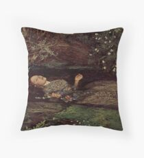 John Everett Millais, Ofelia  Floor Pillow