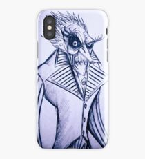 The voiceless count iPhone Case/Skin