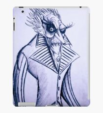The voiceless count iPad Case/Skin