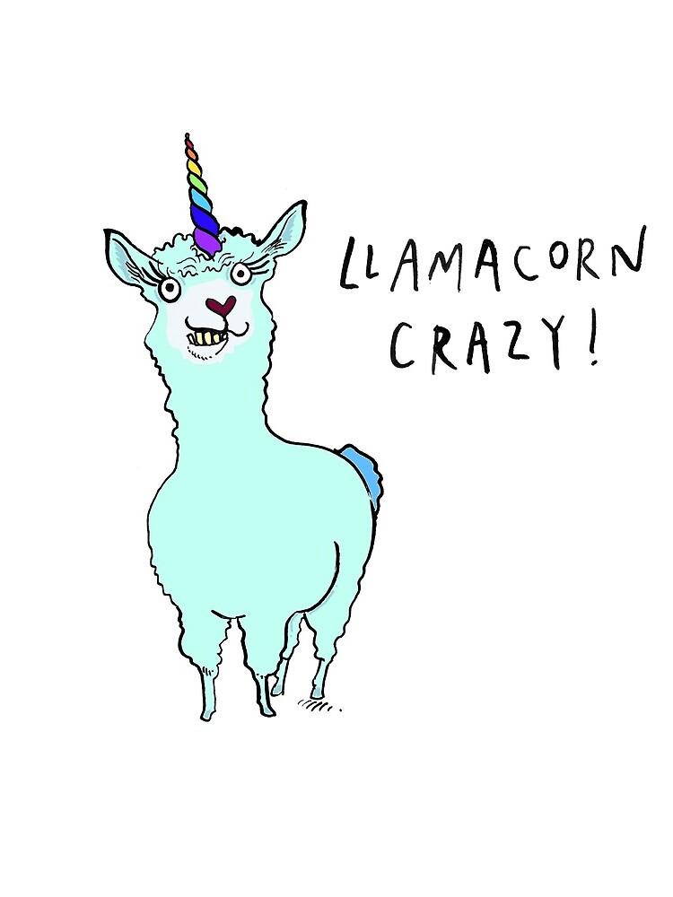 Llamacorn Crazy! by LuciPower