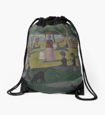 A Sunday on La Grande Jatte Drawstring Bag