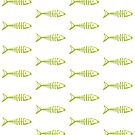 Fish out of Water (green) by wallpaperfiles