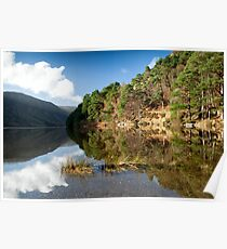 Serenity on Glendalough Lake, Ireland Poster