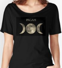 THE TRIPLE MOON Women's Relaxed Fit T-Shirt