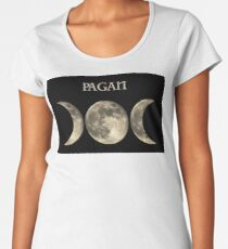 THE TRIPLE MOON Women's Premium T-Shirt