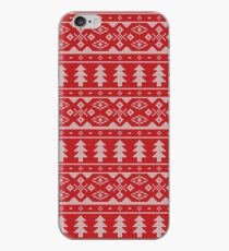 Knitted Christmas Pattern iPhone Case