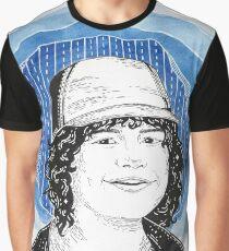 Gaten Matarazzo Illustration Graphic T-Shirt